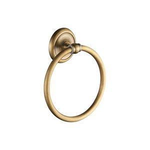 Suport prosop inelar CasaBlanca EPOQUE AEP11, finisaj bronz satinat imagine