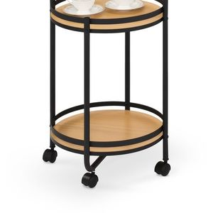 Masa de cafea cu roti, Bar 11 ø44xH75 cm imagine