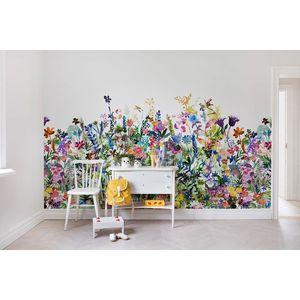 Fototapet Câmpia cu flori, personalizat, Rebel Walls imagine
