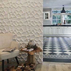 Panouri decorative 3D Gaps, WallArt, 12 placi 50x50cm imagine