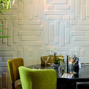 Panouri decorative 3D Bricks, WallArt, 12 placi 50x50cm imagine