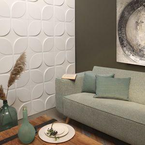 Panouri decorative 3D Sweeps, WallArt, 12 placi 50x50cm imagine