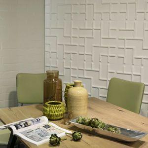 Panouri decorative 3D Tetris, WallArt, 12 placi 50x50cm imagine