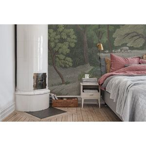 Fototapet Junglă, Color, personalizat, Rebel Walls imagine