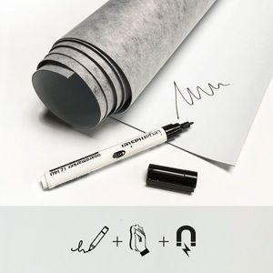 Tapet magnetic whiteboard - 60x265 imagine