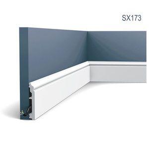 Plinta Axxent SX173, Dimensiuni: 200 X 1.6 X 10 cm, Orac Decor imagine