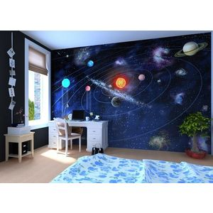 Foto tapet 3D Sistemul solar, personalizat, Photowall imagine