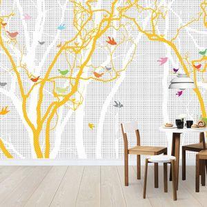 Fototapet Păsări în natură, personalizat, Photowall imagine