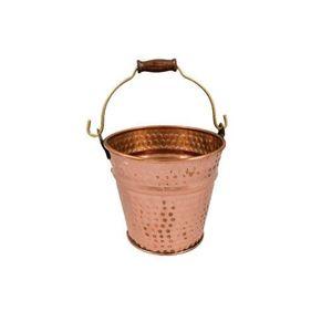 Galeata din Cupru pentru Gheata, Apa, Sticle de Vin, Sampanie, 2 Litri imagine