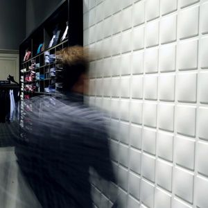 Panouri decorative 3D Cubes, WallArt, 12 placi 50x50cm imagine