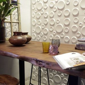 Panouri decorative 3D Craters, WallArt, 12 placi 50x50cm imagine