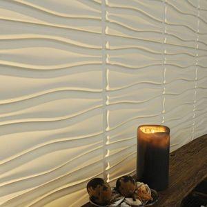 Panouri decorative 3D Flows, WallArt, 12 placi 50x50cm imagine