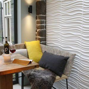 Panouri decorative 3D Maxwell, WallArt, 12 placi 50x50cm imagine