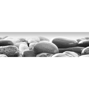 Poster autocolant Beach stones, 500 x 14 cm imagine