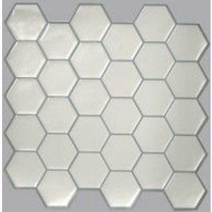 Placa mozaic PEARL HEXAGON   4 placi de 26, 7 cm x 26, 7 cm imagine