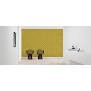 Fototapet Honeycomb Yellow, personalizat, Photowall imagine