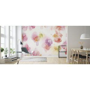 Fototapet Watercolor Petals, personalizat, Photowall imagine