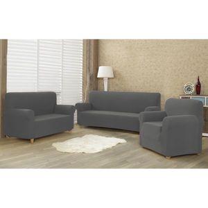 Husă multielastică 4Home Comfort pentru canapea, gri, 180 - 220 cm, 180 - 220 cm imagine