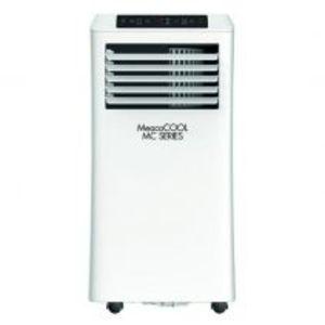 Aer conditionat portabil MeacoCOOL MC7000 Portabil Capacitate 7.000 Btu Debit 300mc/ora Telecomanda Display Timer Pentru 2 imagine