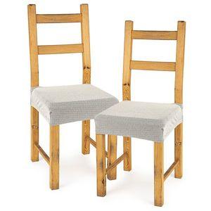 4Home Husă elastică scaun Comfort cream, 40 - 50 cm, set 2 buc imagine