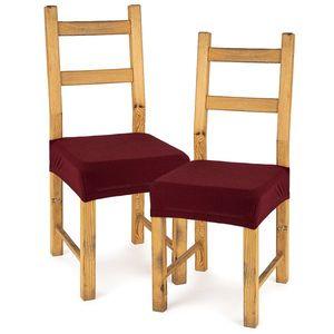 4Home Husă elastică scaun Comfort bordó, 40 - 50 cm, set 2 buc imagine