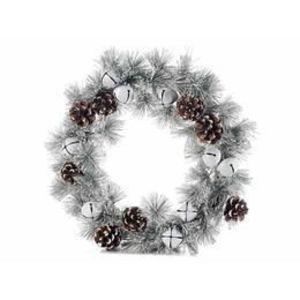 Coronita Craciun suspendabila brad artificial conuri clopotei Diametru 35 cm imagine