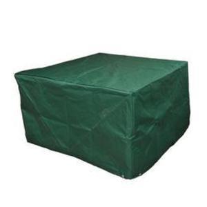 Husa protectie mobilier gradina, Verde, 135 x 135 x 75 cm imagine