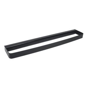 Suport prosop 45cm Metaform 25 BLACK 105G13001, negru mat imagine