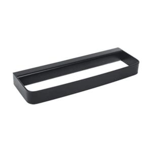 Suport prosop 25cm Metaform 25 BLACK 105G14001, negru mat imagine