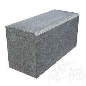 Bordura Granit Gri Antracit 20 x 25 x 50 cm (debitata + bizot 1L) imagine