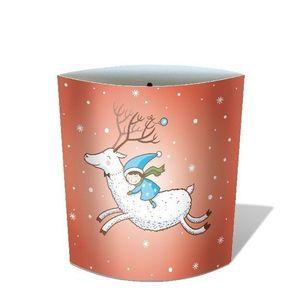 Lampa din hartie Dreamlights - White Deer | Chic mic imagine