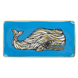 Tava decorativa-Patch NYC Whale | Galison imagine