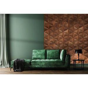 Panouri decorative 3D din lemn de stejar Pyramid imagine