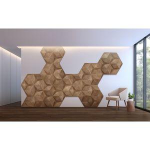 Panouri decorative 3D din lemn de stejar Caro Minus imagine
