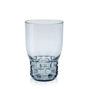 Pahar apa Kartell Jellies Family design Patricia Urquiola d 8.5cm h13cm albastru transparent imagine