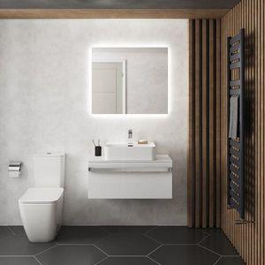 Oglinda cu iluminare si dezaburire Ideal Standard Mirror&Light Ambient 60x70 cm imagine