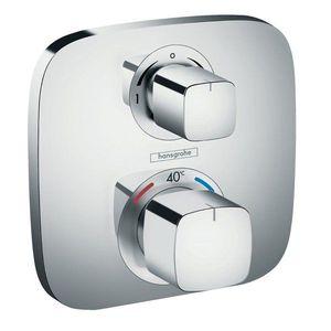 Baterie dus termostatica Hansgrohe Ecostat E incastrata imagine