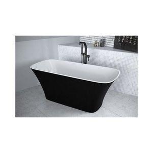 Cada frestanding Besco Assos alb-negru 160x70 cm imagine