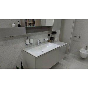 Lavoar pe mobilier Geberit Acanto 89 cm alb imagine