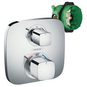 Set promo baterie dus termostatica Hansgrohe Ecostat E incastrata + iBox imagine