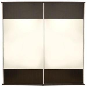 Dulap Laguna 2 usi culisante cu oglinzi, 178 x 60 x 210 cm, Wenge imagine