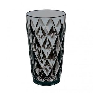 Pahar pentru apa Unbreakable Superglas Gri, Crystal L, 450 ml imagine