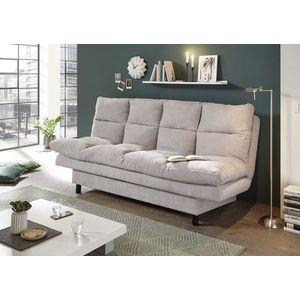 Canapea extensibila tapitata cu stofa, 3 locuri Lotta Gri, l190xA95xH85 cm imagine
