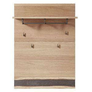Cuier hol din furnir si lemn Crispin Natur, l84xA30xH117 cm imagine