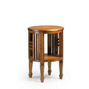 Masa minibar din lemn, Star Nuc, Ø45xH66 cm imagine