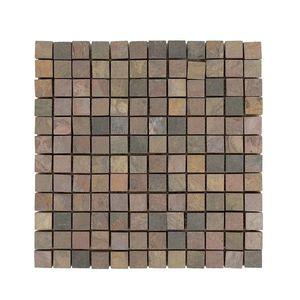 Mozaic Ardezie Multicolora Natur 2.3 x 2.3 cm imagine