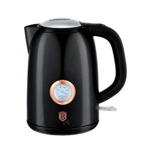 Fierbator apa cu termostat, 1, 7L, 2200W, Black Rose imagine