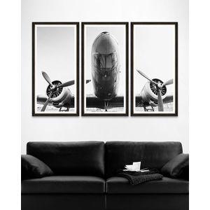 Tablou Framed Art Antique Giant Triptych imagine