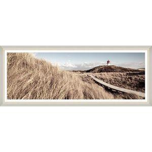 Tablou Framed Art Beach Wooden Path imagine
