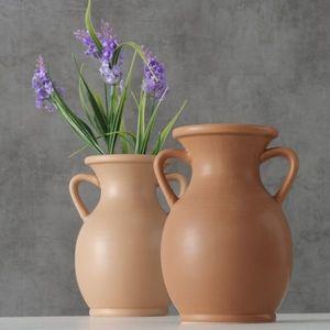 Vaza decorativa din ceramica Samra Maro, Modele Asortate, Ø14xH18 cm imagine